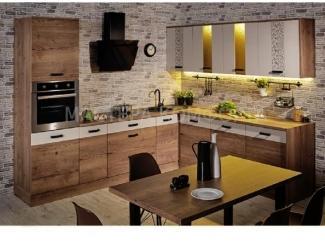 Кухня ЛДСП Адель - Мебельная фабрика «Мастера Комфорта»