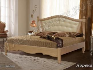 Кровать из дерева Лорена - Мебельная фабрика «Альянс 21 век»