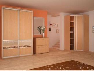 Угловой шкаф купе комбинированный - Мебельная фабрика «Кузьминки-мебель»