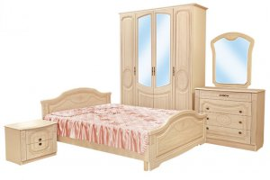 Спальный гарнитур Флоренция   - Мебельная фабрика «ЛТиК»