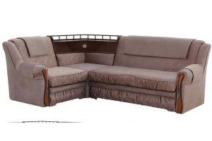 Угловой диван Ассамблея 2 с баром  - Мебельная фабрика «Ассамблея»