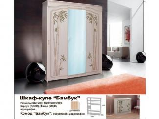 Шкаф Бамбук - Мебельная фабрика «Мебельный комфорт»
