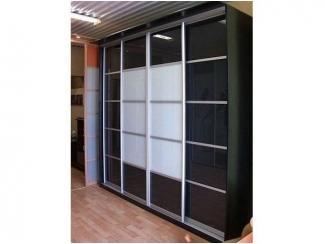 Черно-белый шкаф-купе  - Мебельная фабрика «700 Кухонь»