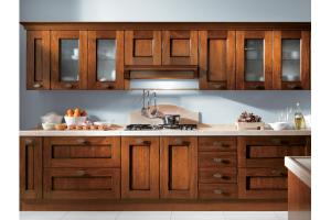 Кухня из массива дерева 02 - Мебельная фабрика «МеТра» г. Москва