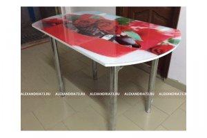Стол стеклянный с фоотопечатью - Мебельная фабрика «Александрия», г. Ульяновск