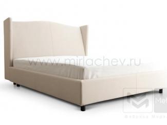 Светлая кровать Флоренция 2 - Мебельная фабрика «Мирлачева»