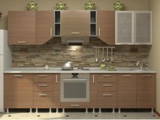 Кухня прямая Азалия комплектация 9 - Мебельная фабрика «Алсо»