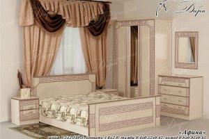 Спальный гарнитур Афина - Мебельная фабрика «Дара»