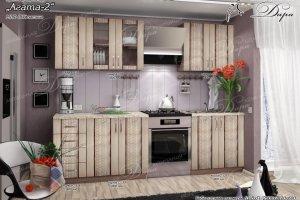 Кухня прямая МДФ Агата 2 - Мебельная фабрика «Дара»