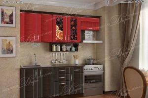 Кухня прямая Агата-3 - Мебельная фабрика «Дара»