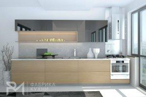 Акриловая кухня Графит - Мебельная фабрика «Ревдамебель»