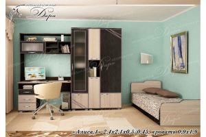 Мебель для детской Алиса-1 - Мебельная фабрика «Дара»