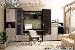 Стенка для детской Алиса-3 - Мебельная фабрика «Дара»
