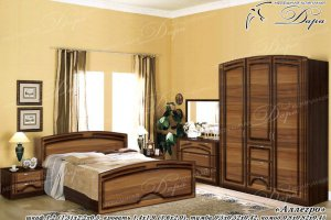 Спальный гарнитур Аллегро - Мебельная фабрика «Дара»