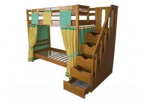 Кровать детская двухъярусная Альпинист - Мебельная фабрика «Мебель Холдинг»