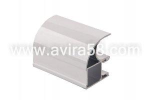 Алюминиевый профиль Белый - Оптовый поставщик комплектующих «Авира»
