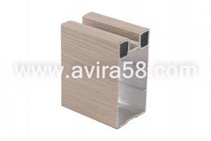 Алюминиевый профиль Феррара светлая крупная - Оптовый поставщик комплектующих «Авира»