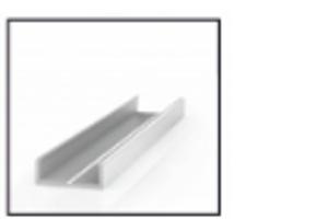 Алюминиевый профиль МП1-07 - Оптовый поставщик комплектующих «RAUFF»