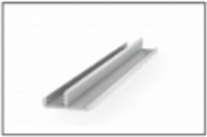Алюминиевый профиль MS1-018/2 - Оптовый поставщик комплектующих «RAUFF»