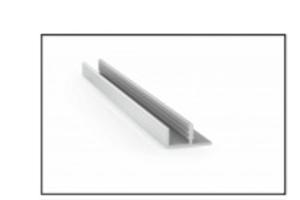 Алюминиевый профиль MS1-07 - Оптовый поставщик комплектующих «RAUFF»