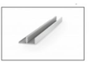 Алюминиевый профиль MS1-09 - Оптовый поставщик комплектующих «RAUFF»