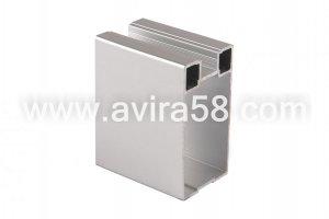 Алюминиевый профиль Серебро крупная - Оптовый поставщик комплектующих «Авира»