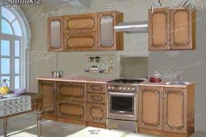 Кухня прямая Антик-2 - Мебельная фабрика «Дара»