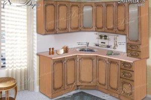 Кухня угловая Антик-3 - Мебельная фабрика «Дара»