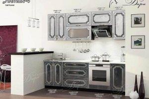 Кухня прямая МДФ Антик-4 - Мебельная фабрика «Дара»