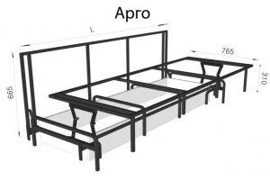 Механизм трансформации Арго - Оптовый поставщик комплектующих «Кузнецкий завод мебельной фурнитуры»
