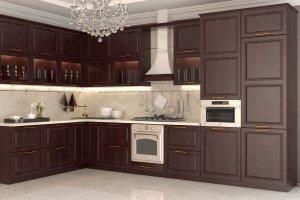 Угловая кухня Авиньон - Мебельная фабрика «Алмаз-мебель»