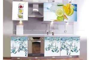 Кухня прямая Айс - Мебельная фабрика «Мебель Поволжья»