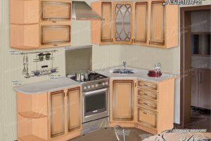 Кухня Азалия-2 - Мебельная фабрика «Дара»