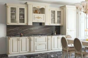 Кухня прямая с патиной Азалия - Мебельная фабрика «Мебель Поволжья»