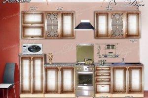 Кухонный гарнитур Азалия-3 - Мебельная фабрика «Дара»