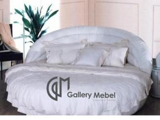 Круглая кровать Letto Rotondo 07 - Мебельная фабрика «Галерея Мебели GM»