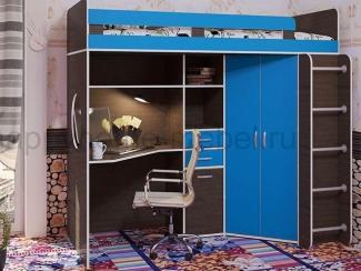 Детская кровать-чердак ВДОХНОВЕНИЕ - Мебельная фабрика «Happy home»