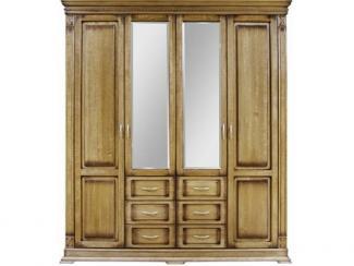 Шкаф 4-дверный Верди П095.01 - Мебельная фабрика «Пинскдрев»