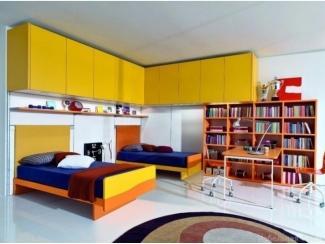 Яркая детская для двоих Франко  - Мебельная фабрика «Триана»