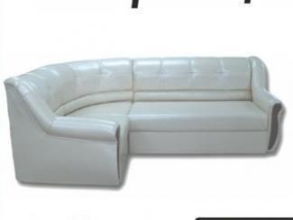 Белый угловой диван Флоренция