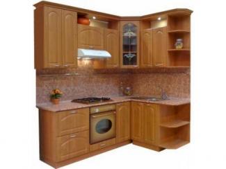 Кухонный гарнитур угловой Ольха 2 - Мебельная фабрика «Петербургская мебельная компания (ПМК)»