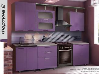 Кухонный гарнитур прямой Фортуна 2 - Мебельная фабрика «Форт»