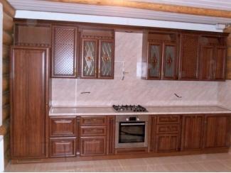Прямая классическая кухня   - Мебельная фабрика «Красная Мебель»