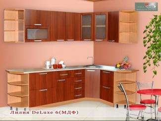 Кухня Лилия DeLuxe 6 - Мебельная фабрика «Элна»