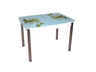 Кухонный стол Гранд 11 раздвижной с фотопечатью - Мебельная фабрика «Виталь»