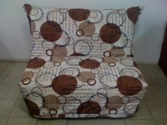 Диван прямой Аккордеон 120 Блэк - Мебельная фабрика «Диваны от Ани и Вани»