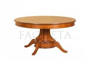 Стол круглый обеденный раздвижной Франко - Салон мебели «Faggeta»