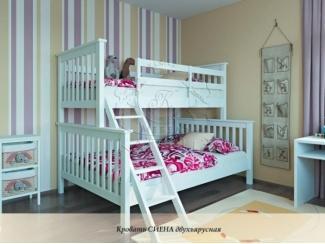 Двухъярусная детская кровать Сиена - Мебельная фабрика «Каприз»