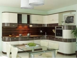 Кухня в светлых тонах Эмаль  - Мебельная фабрика «Вектра-мебель»