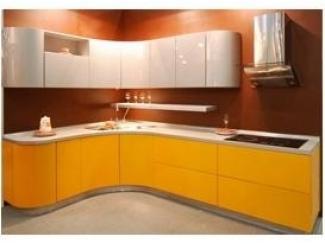 Кухня с фасадом из эмали  - Мебельная фабрика «Kuhnishkaf»
